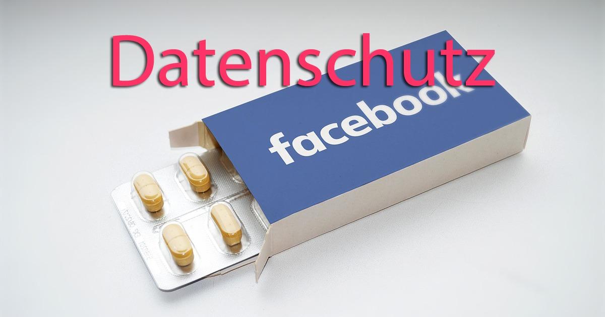 Facebookpille Datenschutz